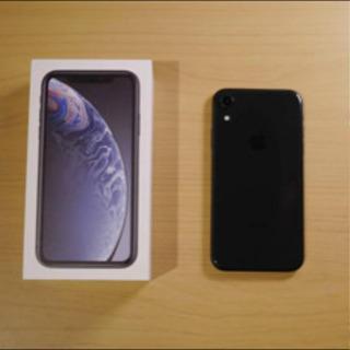 iPhone XR 64GB Black SIMフリー MT00...