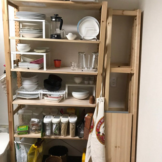 IKEA組立式棚三セット