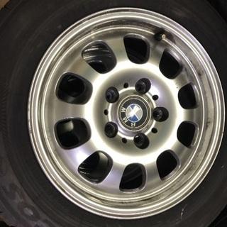 195/65R15タイヤ付きアルミホイール