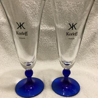 新品  Korloff グラスセット