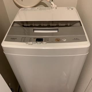 AQUA 全自動洗濯機 AQW-S45E