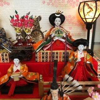 三段 雛人形 久月 - 弘前市