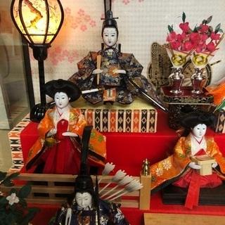 三段 雛人形 久月 - おもちゃ