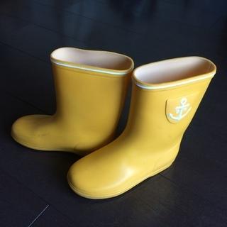 黄色レインブーツ19cm