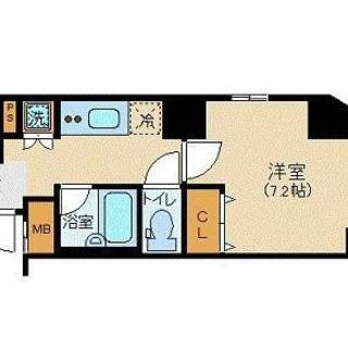 JR山手線 浜松町 家具家電付貸マンション 定期借家