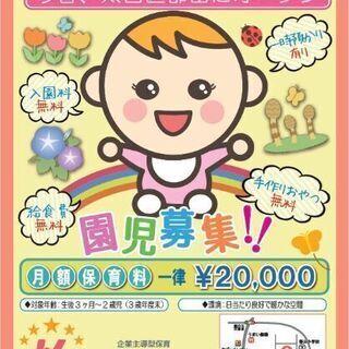 ✨保育士募集✨H31年3月開園!オープニングスタッフ(正社員・パー...
