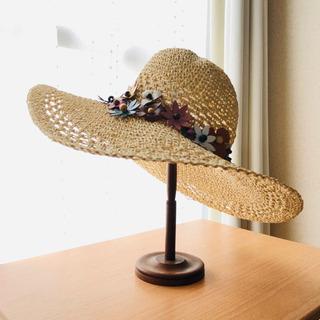 リゾート感たっぷり帽子