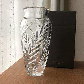HOYA クリスタルガラス 花瓶