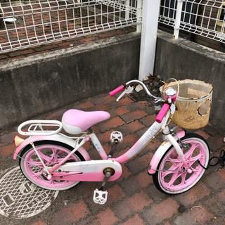 自転車 16インチ ピンク