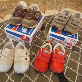 ニューバランス/ベビー/スニーカー含め合計4点スニーカー(靴)
