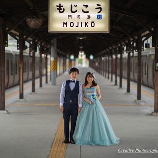 in 門司港レトロ【前撮り・フォトウエディング】2時間:3500...