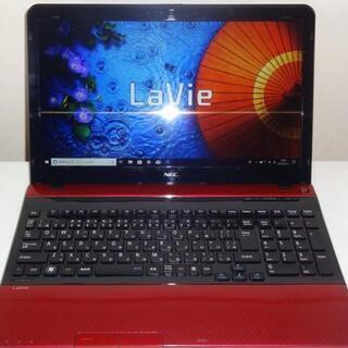NEC LaVie i5  新品SSD256G&HDD750G搭...