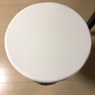 【新品未使用】回転昇降カウンター椅子 - 下野市