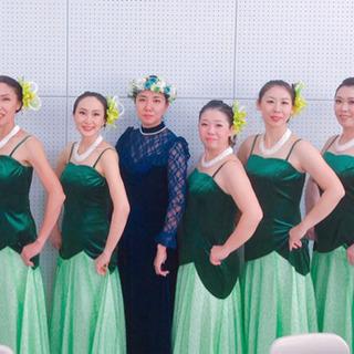 熊谷フラ、熊谷フラダンス✨水曜日中級クラス✨江南ピピア