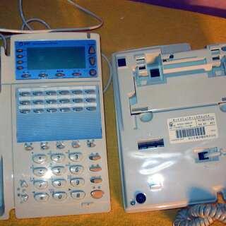 電話機2台 NTTネットコミュニティーシステム αGX