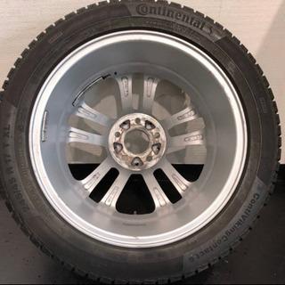ベンツEクラス用ヤナセ発売17インチホイール付きスタッドレスタイヤ - 車のパーツ