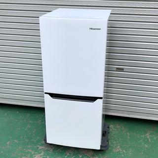 2017年製 2ドア冷凍冷蔵庫 ハイセンス HR-D1302