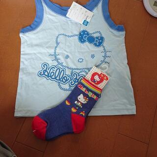 靴下&Tシャツ タンクトップ サンリオ ハローキティ 110