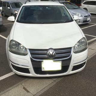 ☆ゴルフ☆ヴァリアント2.0TSIスポーツライン☆車検R3年3月まで!