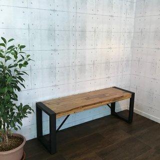 【在庫処分大特価】 ベンチ チェア イス 椅子 腰掛け アカシア 無垢材 アジアン ヴィンテージの画像