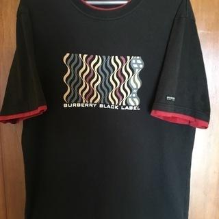バーバリー ブラックレーベル Tシャツ サイズ3 三陽商会 日本製