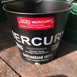 MERCURY バケツ 新品未使用 インテリア