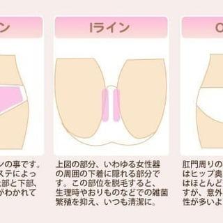 大人のデリケートゾーン脱毛¥1080