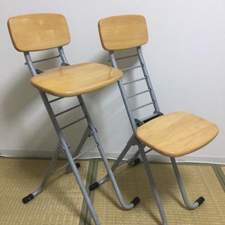 中古◎lily chairリリーチェア◆折りたたみ椅子◆1脚ずつ