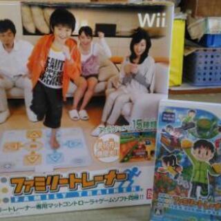 Wii ソフト「ファミリートレーナー」(専用マットコントローラー付)