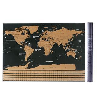 Mizuri 世界地図 壁紙 ポスター スクラッチマップ