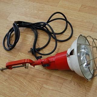 Nichiden/ニチデン 投光器 赤 レッド 照明 ライト A...
