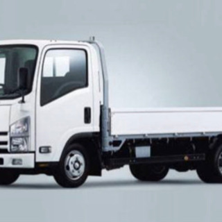3tトラック平ボディー 建築内装資材の配送