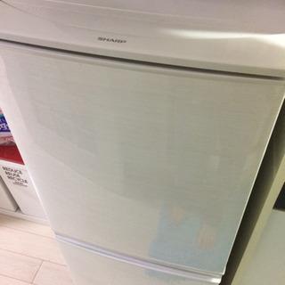取引中 2017年製 SHARP 冷凍冷蔵庫 SJ-D14C