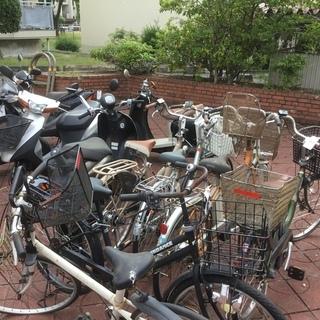 不要な自転車を 無料回収中!