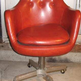 昔の麻雀椅子 4脚
