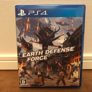 EDF Iron Rain   PS4 中古