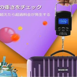 新品★携帯型 旅行はかり デジタル吊り下げ秤 スケール 計量器 ...