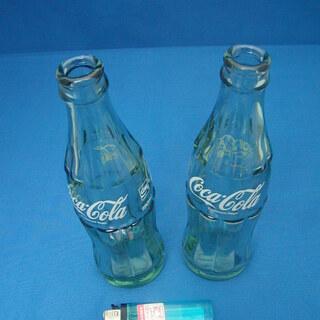 懐かしい!! コカコーラの空き瓶 2本セットで300円