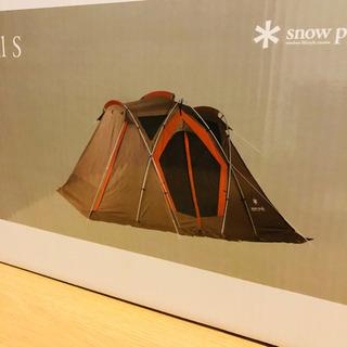 新品未使用!スノーピーク リビングシェルS snow peakテント 2人用 3人用 - その他