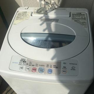 洗濯機 日立 2007年製