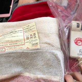 (子育て支援の方は無料)電気毛布