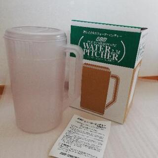 新品 抗菌 冷水筒 ウォーターピッチャー2.3L クリア