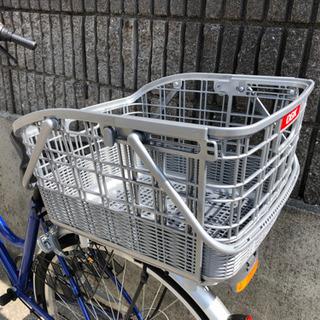 自転車 後ろカゴ  取外し可能バスケット