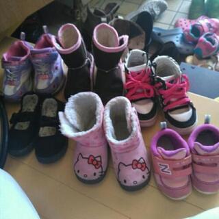 女の子の靴色々