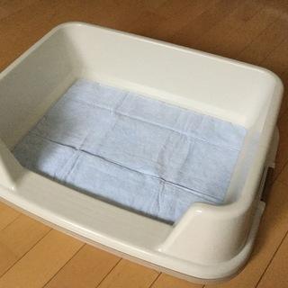 【4か月使用】ペットの大き目トイレ