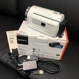 ソニー ハンディビデオカメラ HDR PJ540 プロジェクター