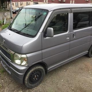バモス 4WD L H13年 銀 車検無し(2年付可)14500...