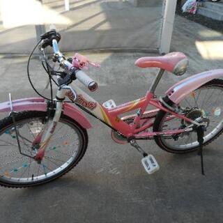 【中古】 ブリジストン自転車22インチ