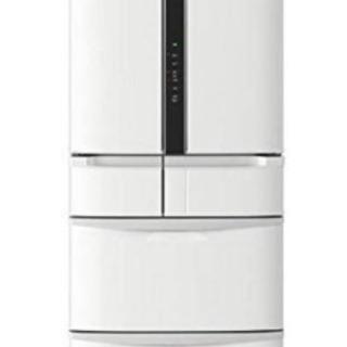 冷蔵庫 日立 475L 6ドアノンフロン冷蔵庫 ホワイト R-F...