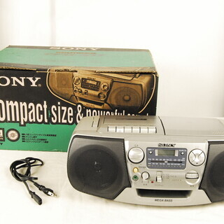 9608  SONY ソニー CFD-S17 CD ラジオ カセ...